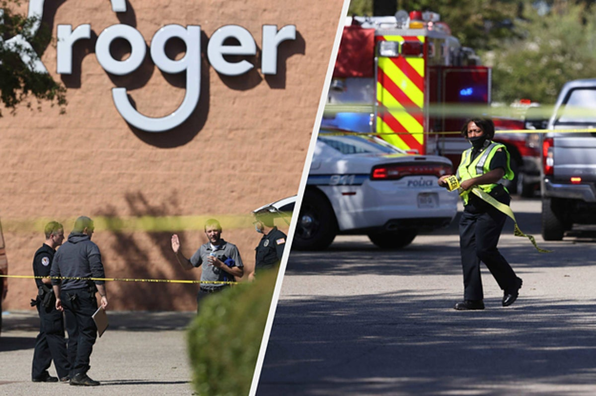 A Shooter Opened Fire At A Kroger Grocery Store In Tennessee, Killing One Person And Injuring At Least 12 Others