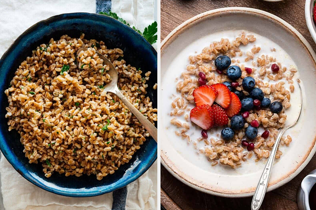 11 High-Protein Grains For Anyone Trying To Eat A Bit Healthier (Or Eat Less Meat)