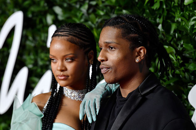 Rihanna Revealed How Much A$AP Rocky Helped With Her Savage X Fenty Men's Designs