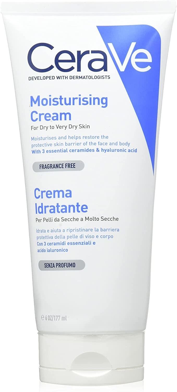 Crema CeraVe para piel seca y muy seca