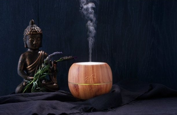wooden essential oil diffuser
