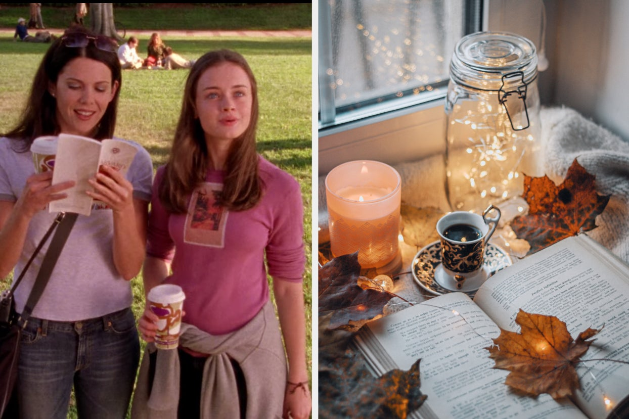 """Ever Wondered Which """"Gilmore Girls"""" Character You're Most Like? Just Plan The Perfect Fall Day To Find Out"""