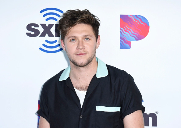 Niall on a red carpet