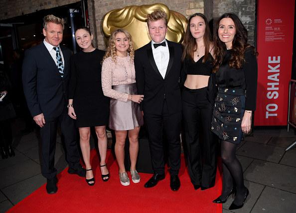 Gordon Ramsay, kids Holly Anna Ramsay, Matilda Ramsay, Jack Scott Ramsay, Megan Jane Ramsay and wife Tana Ramsay