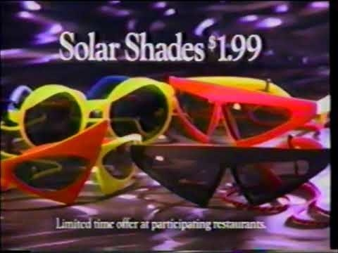 Screenshot of Four Solar Shades being sold at $1.99 each