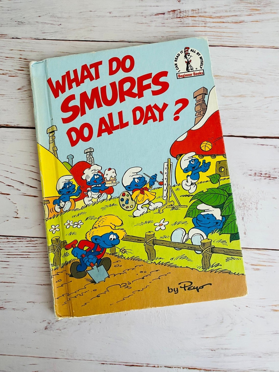 Photo ofWhat Do Smurf's Do All Day? book