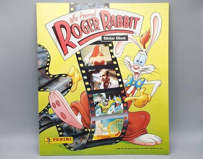 A Roger Rabbit Panini book