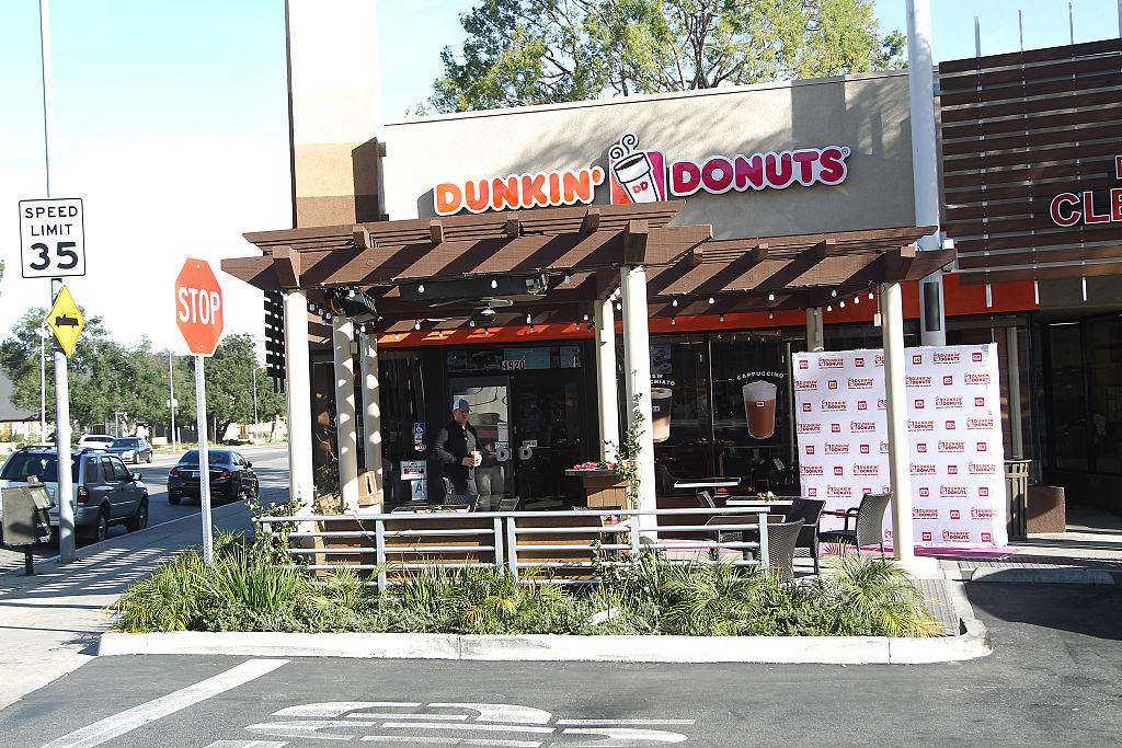 A Dunkin' Donuts store