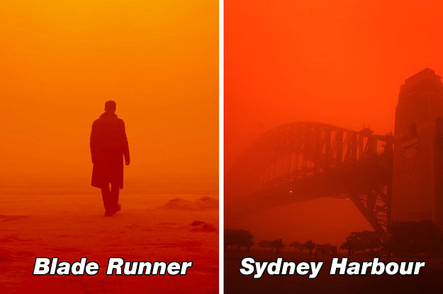 Aussies Will Never Forget The Day We Awoke To Blood Red Skies During A Dust Storm