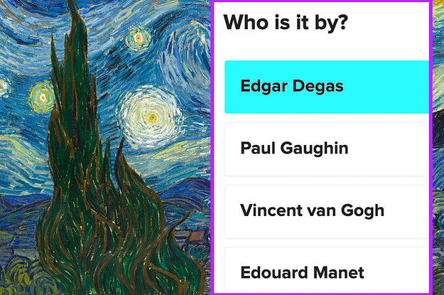 These Paintings Are So Famous That Not Acing This Quiz Is Embarrassing