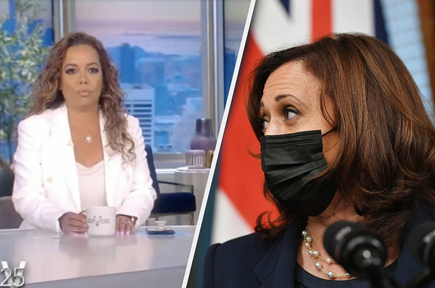 """Two Hosts Of """"The View"""" Found Out They Tested Positive For COVID Seconds Before They Were Supposed To Interview Kamala Harris"""