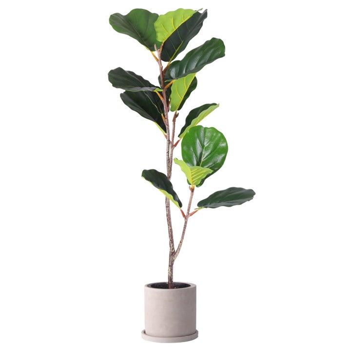 Large faux fiddle leaf fig