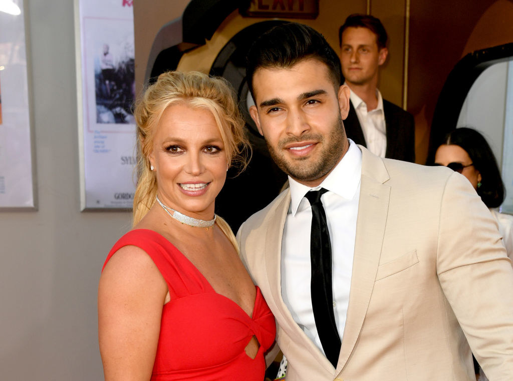 Britney and Sam smiling