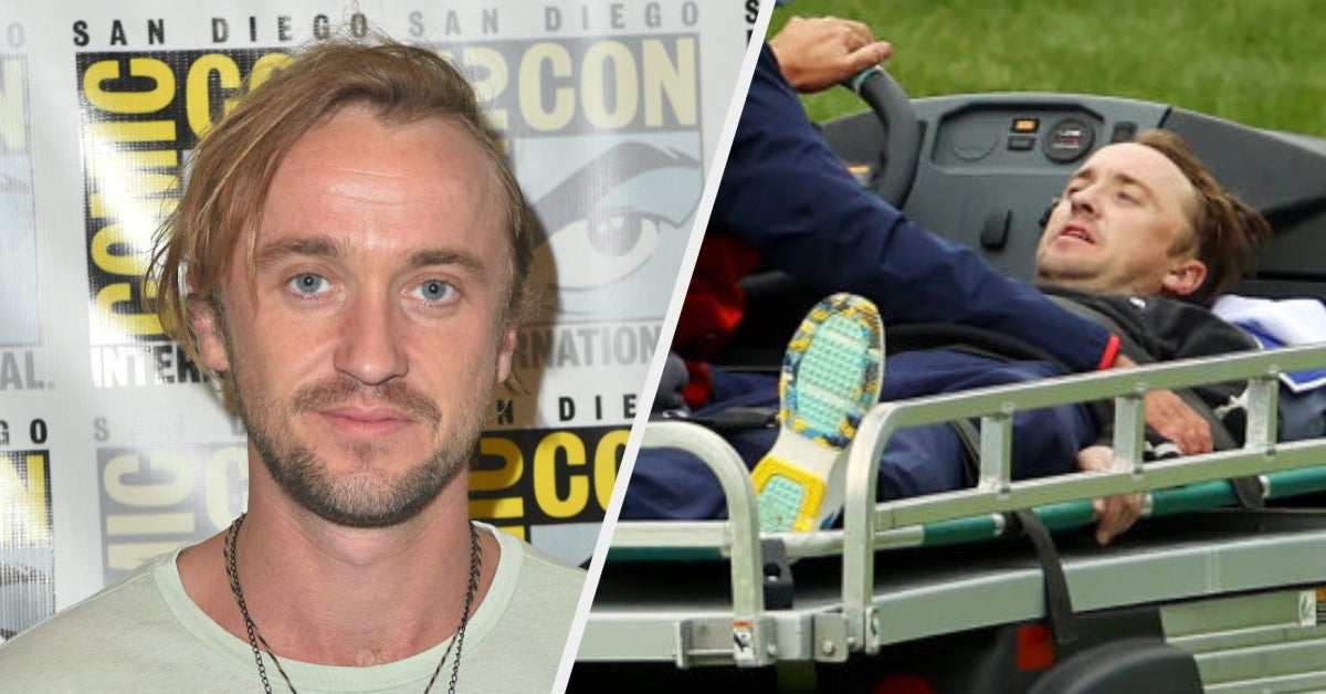 Tom Felton Shared An Instagram Update After He Collapsed At A Golf Tournament And Was Carted Away On A Golf Cart