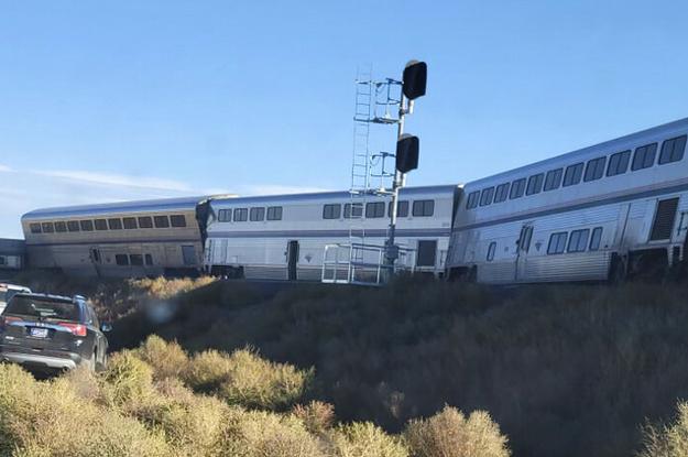 Three People Were Killed When An Amtrak Train Derailed In Montana
