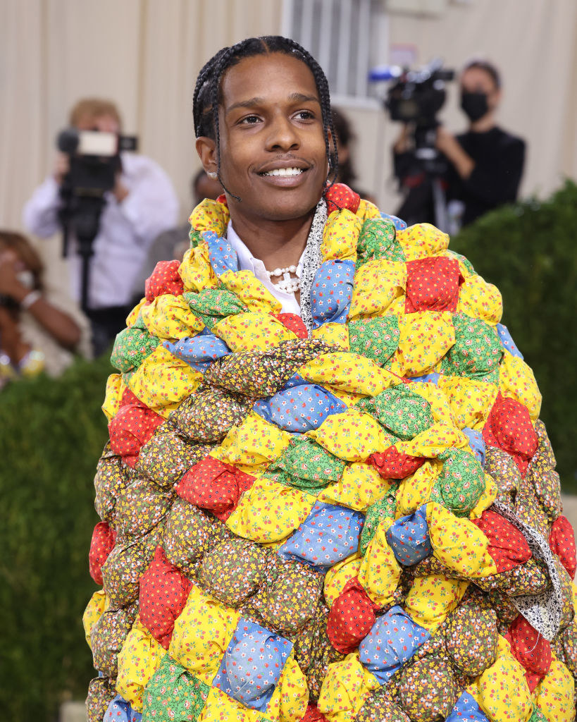 """A$AP Rocky attends the 2021 Met Gala benefit """"In America: A Lexicon of Fashion"""""""