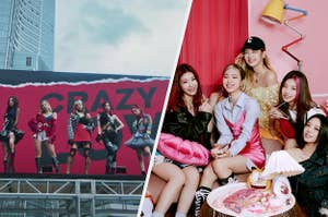 The members of ITZY.