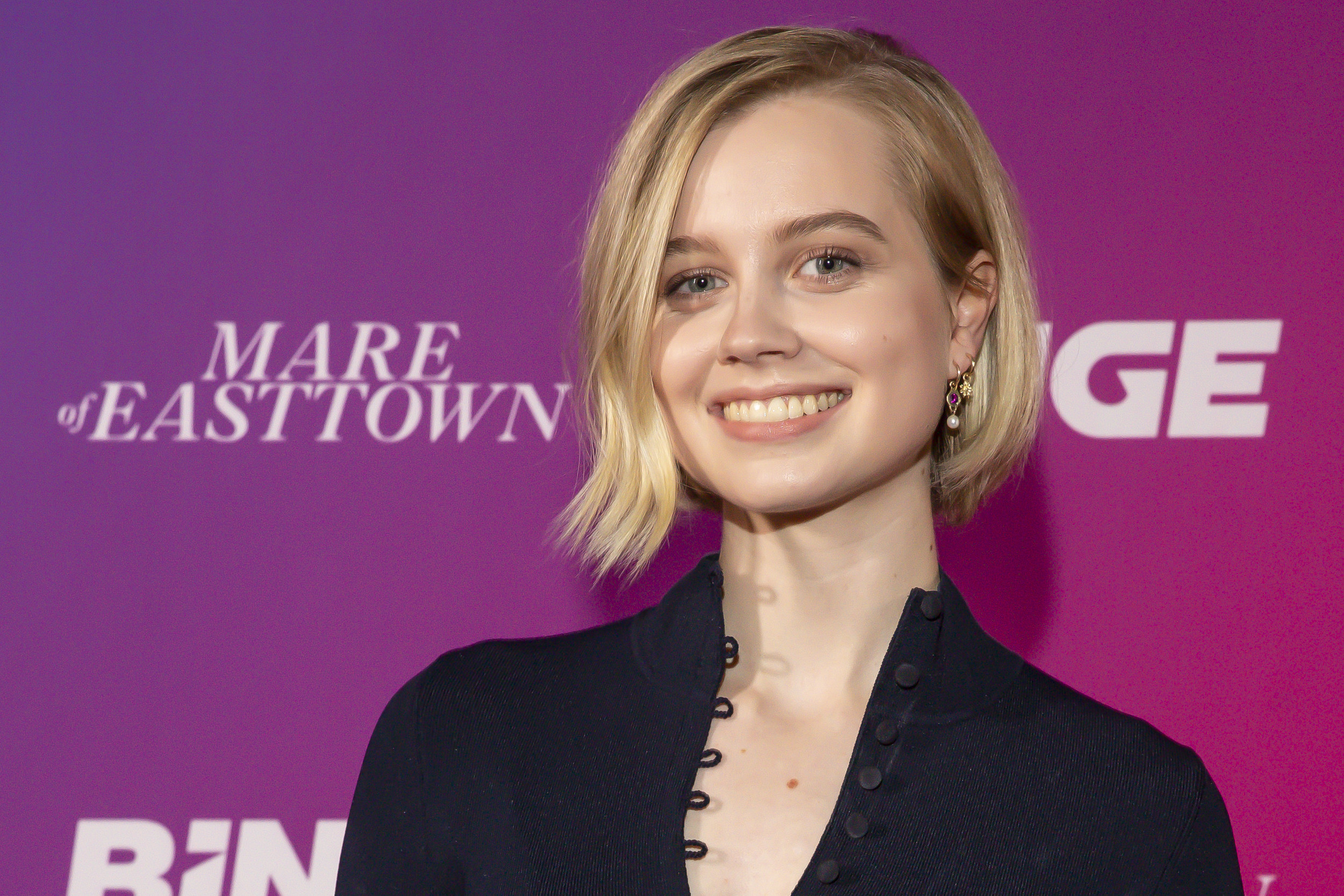 Angourie Rice at a Mare of Easttown event