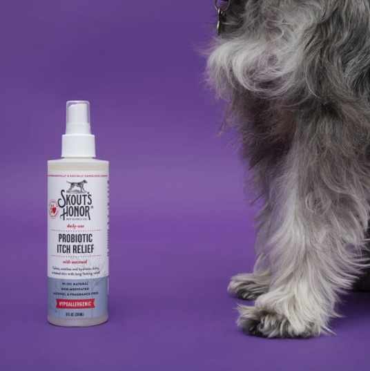skout's honor probiotic itch relief spray
