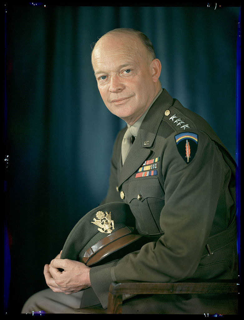 A portrait of Eisenhower as a general