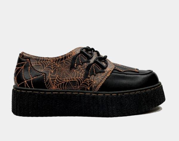 a krypt spiderweb shoe