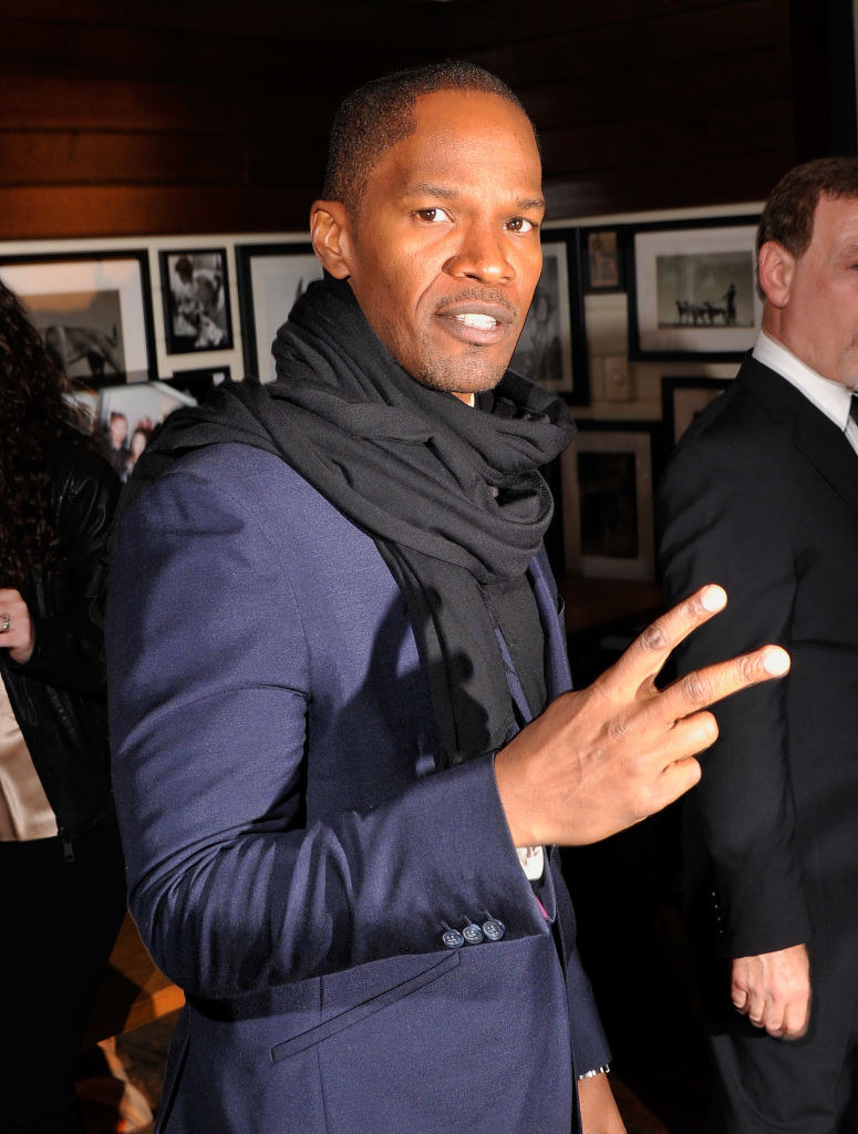 """Jamie Foxx attends the after party for a screening """"Django Unchained"""""""