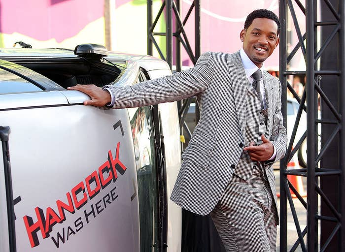 """Will Smith arrives to The World Premiere of Columbia Pictures' """"Hancock"""""""