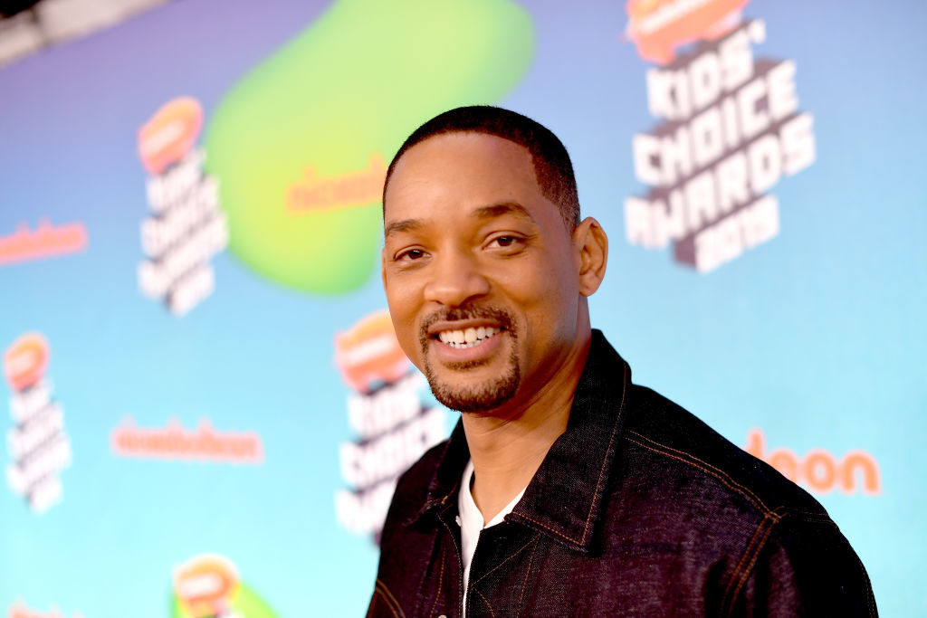 Will Smith attends Nickelodeon's 2019 Kids' Choice Awards