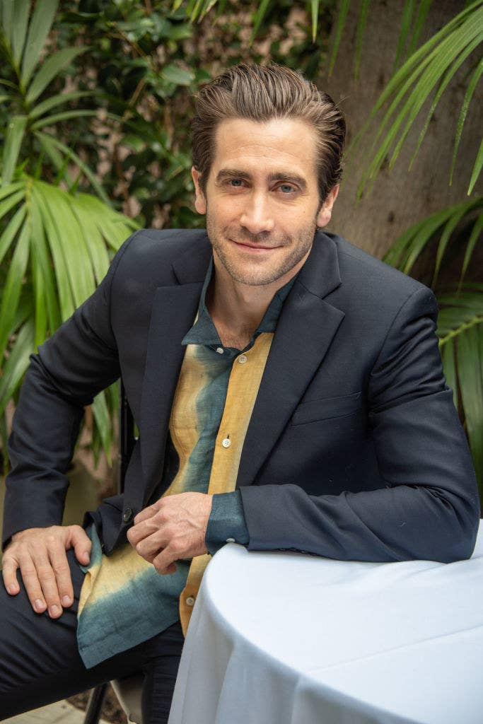 "Jake Gyllenhaal at the ""Velvet Buzzsaw"" Press Conference"