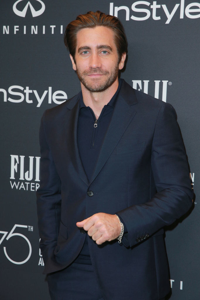 Jake Gyllenhaal attends the Hollywood Foreign Press Association and InStyle celebrate the 75th Anniversary of The Golden Globe Awards