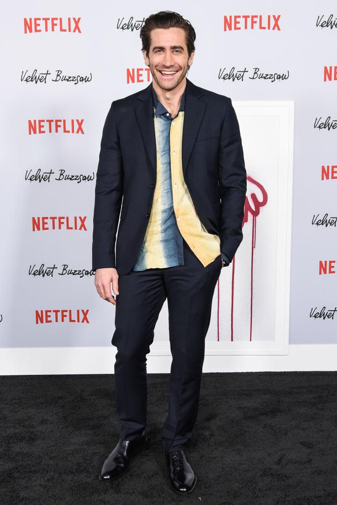 "Jake Gyllenhaal attends Los Angeles Premiere Screening Of ""Velvet Buzzsaw"""