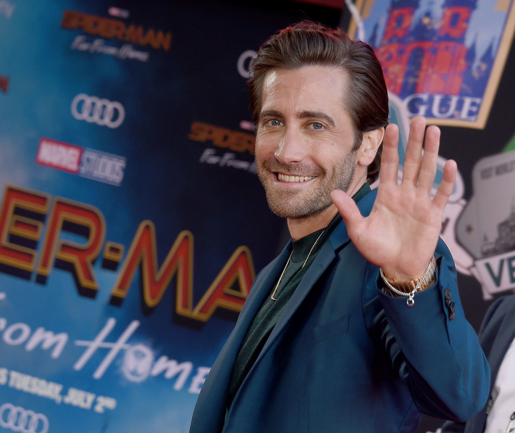 """Jake Gyllenhaal attends the premiere of Sony Pictures' """"Spider-Man Far From Home"""""""