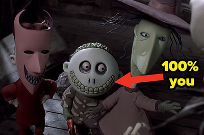 lock shock and barrel from nightmare before christmas
