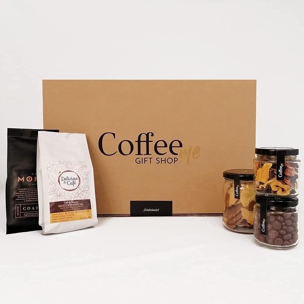 Set de regalo café y productos gourmet