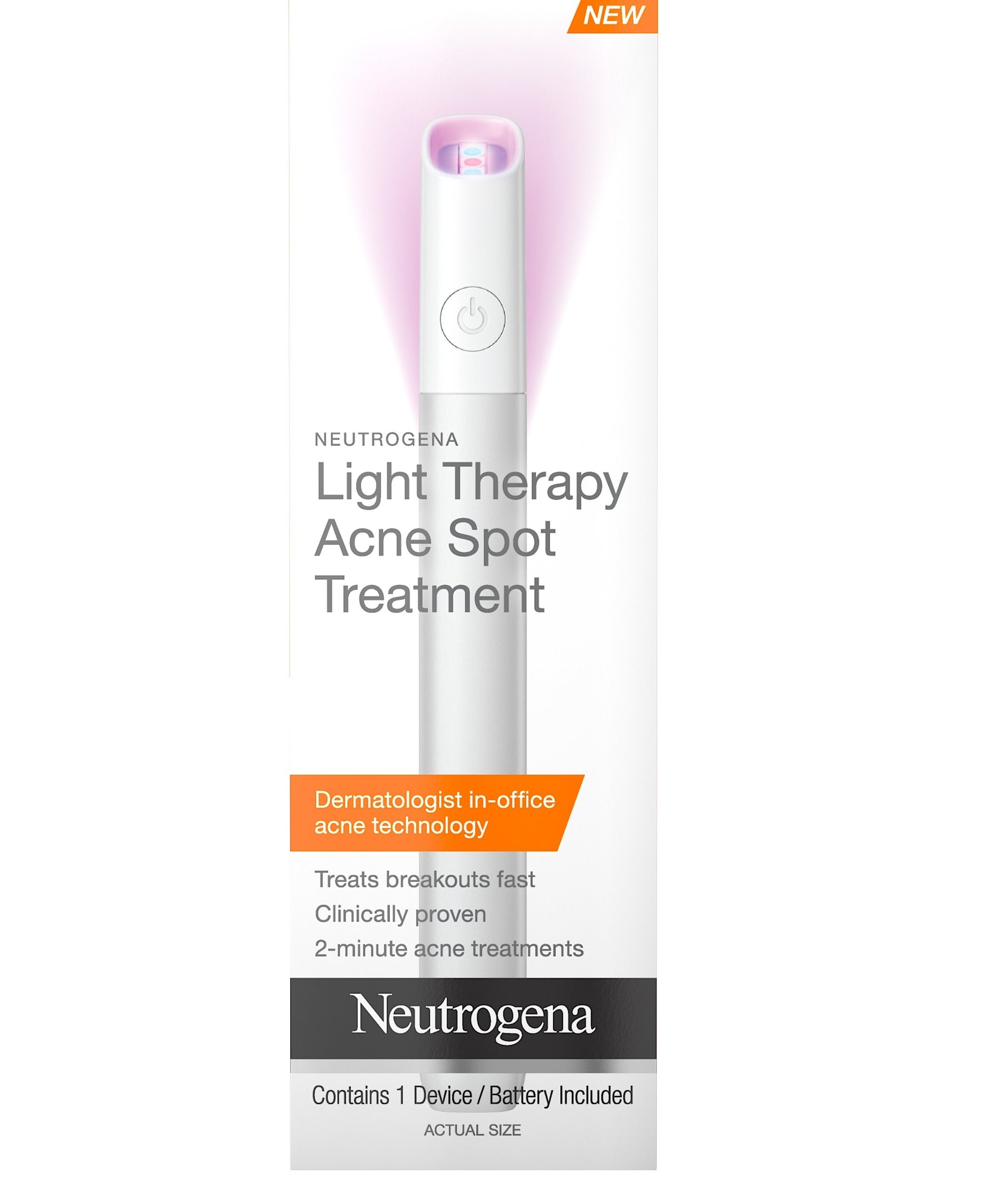 Theportable light therapy wand