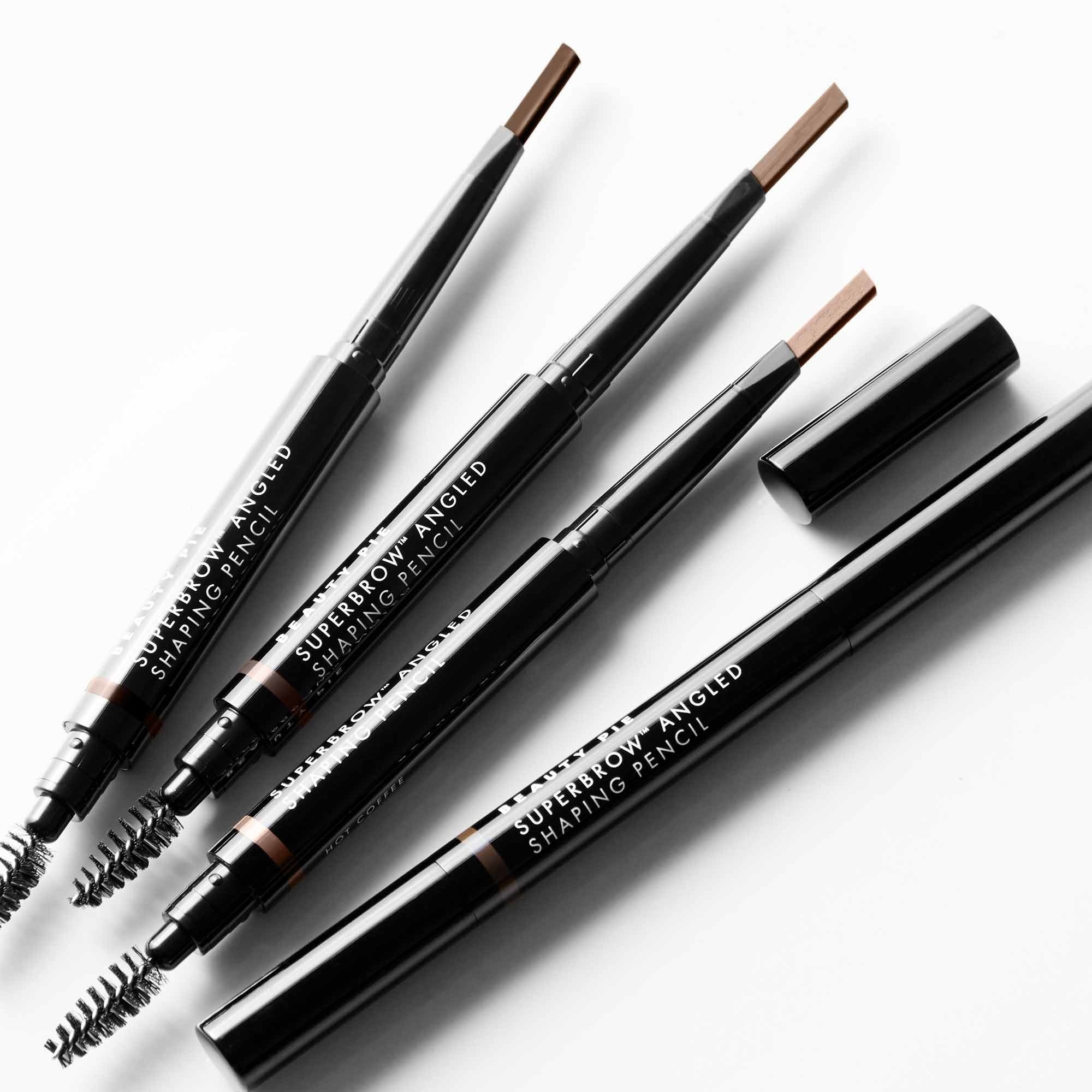 FourSuperbrow™ Angled Shaping Pencils with tip and spoolie