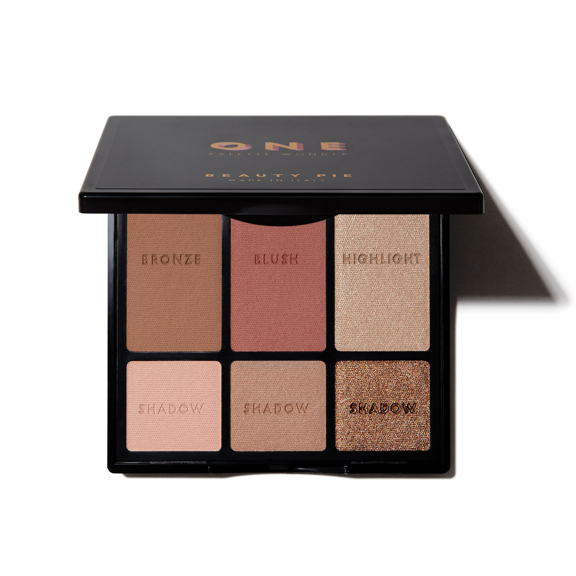 One Palette Wonder eyeshadow palette with neutral tones