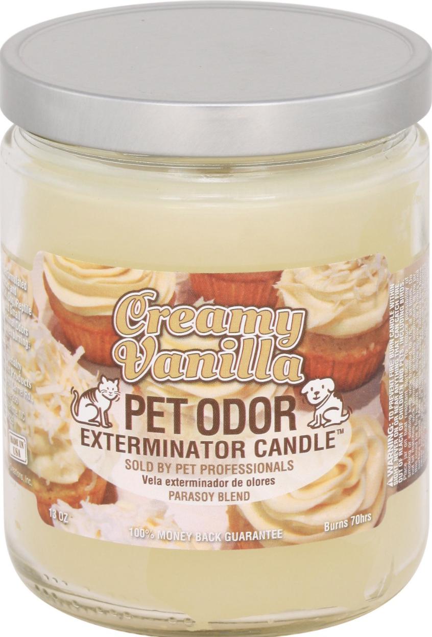 creamy vanilla candle