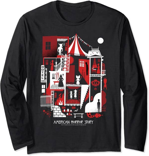 the american horror story house of horror tee