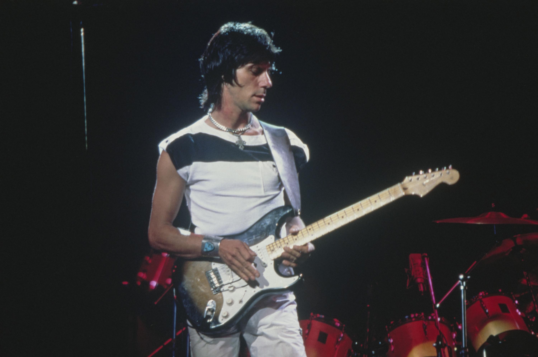 Jeff Beck on guitar