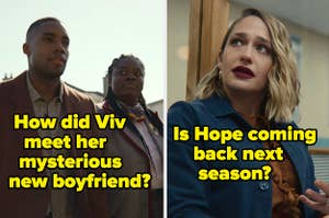 """""""How did Viv meet her mysterious New boyfriend?"""" and """"Is Hope coming back next season?"""""""