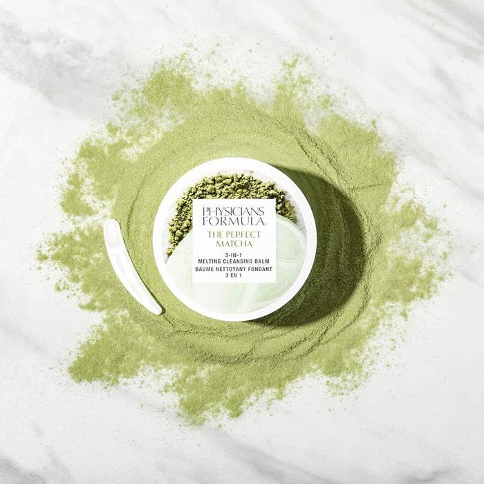 The matcha three-in-one cleansing balm
