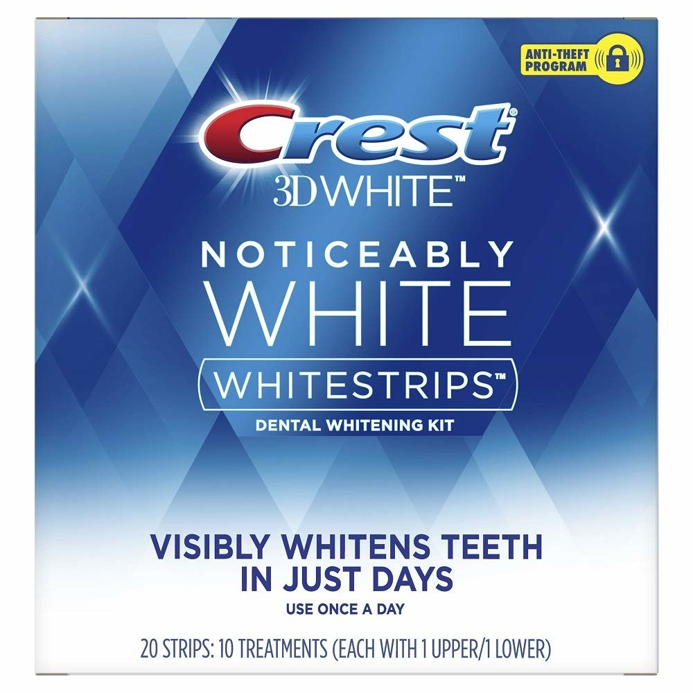 The set of whitening strips