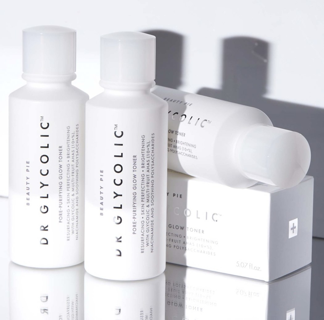 Dr Glycolic Pore Purifying Glow Toner containers
