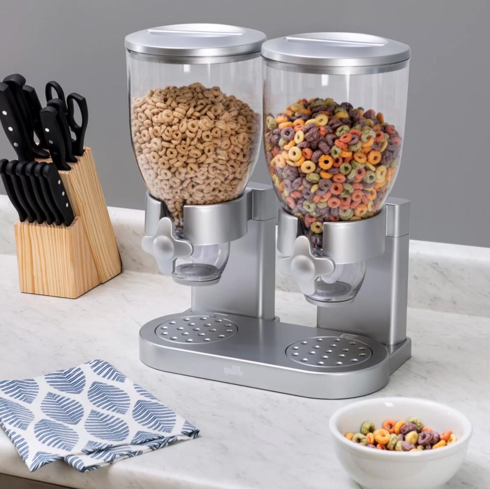 The cereal dispenser