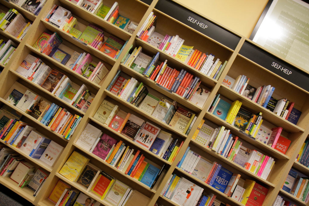 Books inside of Borders