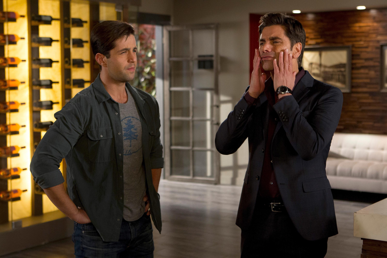 Josh with John Stamos
