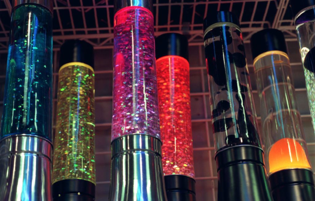 Lava Lamps in a Spencer's