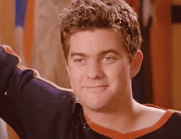 """Joshua Jackson as Pacey Witter in """"Dawson's Creek"""""""
