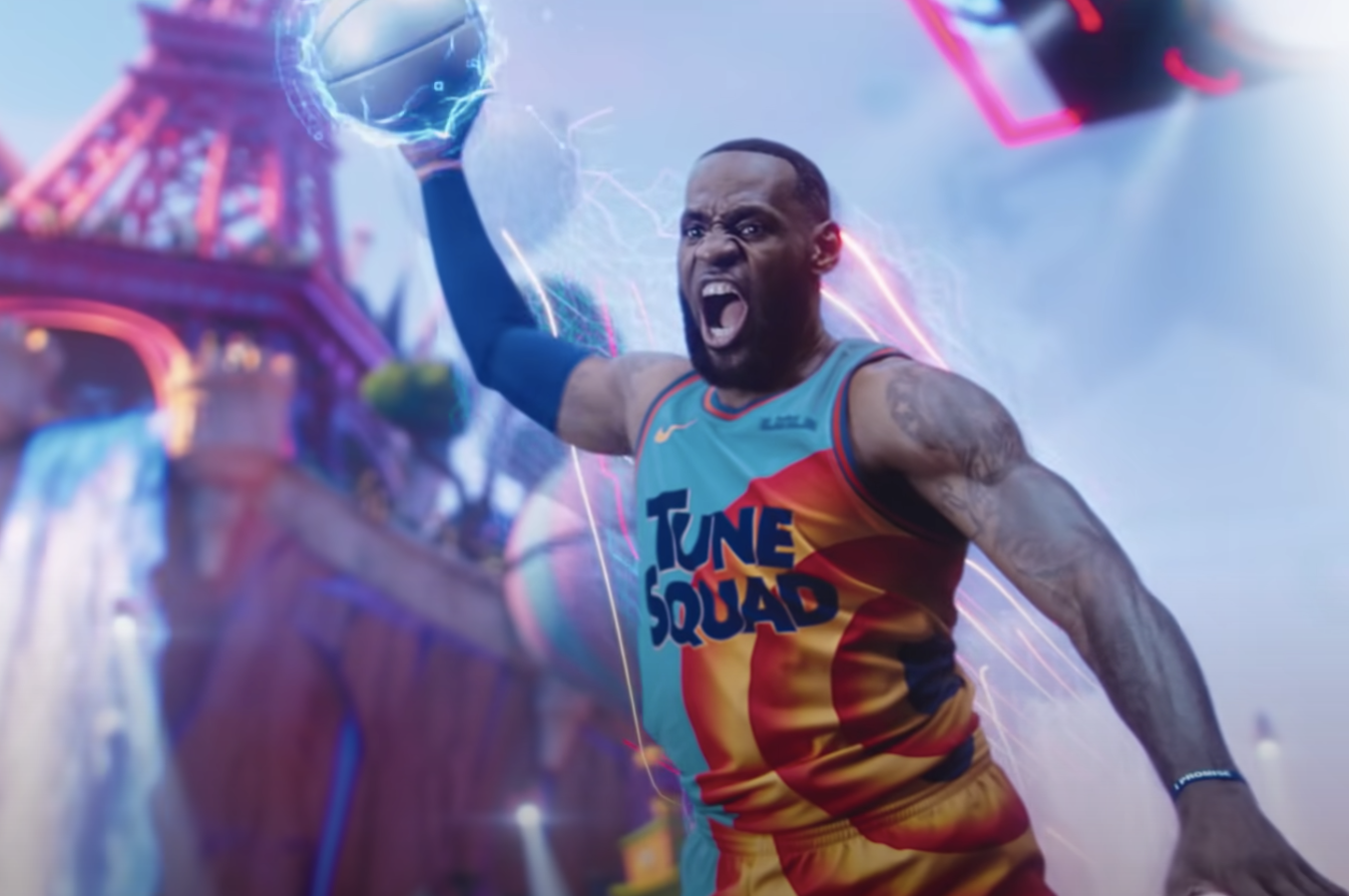 """LeBron in """"Space Jam: A New Legacy"""""""